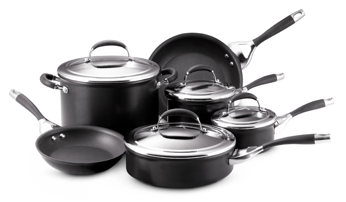 Circulon infinite cookware set for Kitchen queen set